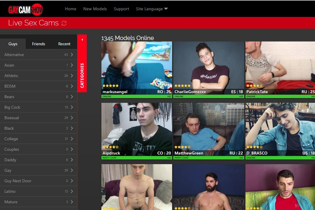 gaycamshow reviews